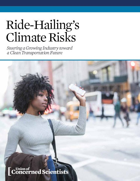 Ride-Hailing's Climate Risks report